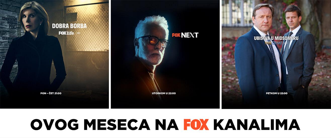 FOX kanali u ponudi!